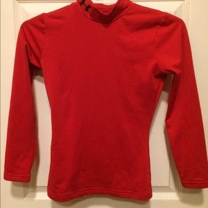 Under Armour fitted coldgear long sleeve EUC